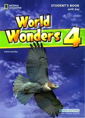 World Wonders 4. Student's Book with overprint Key - фото обкладинки книги