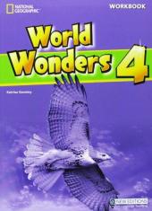 World Wonders 4. Workbook - фото обкладинки книги