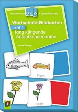 Wortschatz-Bildkarten - Set 1: lang klingende Anlautkonsonanten (картки) - фото книги