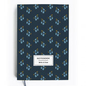 Write&Draw. Blue flowers - фото обкладинки книги