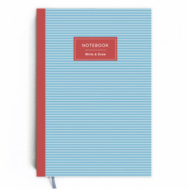 Write&Draw. Blue stripes - фото книги