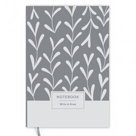 Write&Draw. White Leaves - фото книги