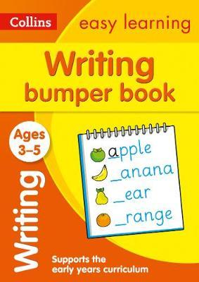 Посібник Writing Bumper Book Ages 3-5