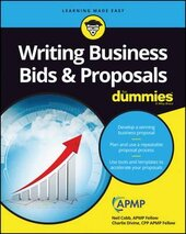 Writing Business Bids and Proposals For Dummies - фото обкладинки книги