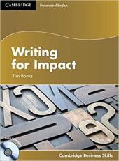Writing for Impact Student's Book with Audio CD (Cambridge Business Skills - фото обкладинки книги