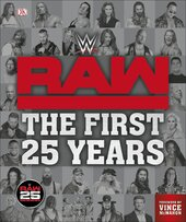 WWE RAW The First 25 Years - фото обкладинки книги