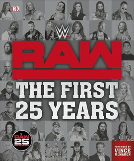 WWE RAW The First 25 Years - фото книги