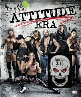 WWE The Attitude Era - фото книги