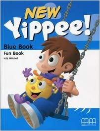 Посібник Yippee  New Blue Fun Book with CD-ROM