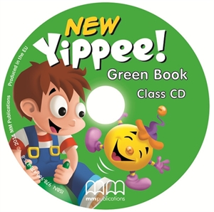 Аудіодиск Yippee  New Green Class CD
