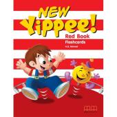 Yippee  New Red Flashcards - фото обкладинки книги