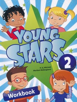 Young Stars 2. Workbook with CD - фото книги