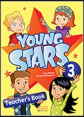 Young Stars 3. Teacher's Book - фото обкладинки книги
