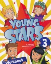 Young Stars 3. Workbook with CD - фото обкладинки книги