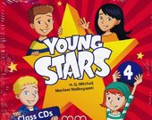 Young Stars 4. Class CDs - фото обкладинки книги