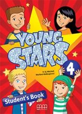 Young Stars 4. Student's Book - фото обкладинки книги