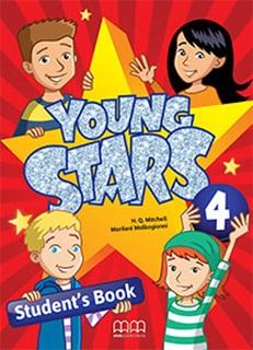 Young Stars 4. Student's Book - фото книги