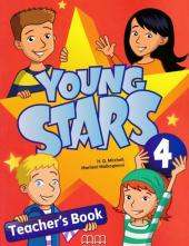 Young Stars 4. Teacher's Book - фото обкладинки книги
