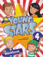 Young Stars 4. Workbook with CD - фото обкладинки книги