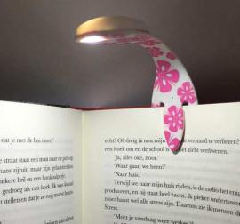 Закладка Flexilight Pink Flowers - фото книги