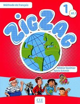 ZigZag 1. Livre de L'eleve + CD audio - фото книги