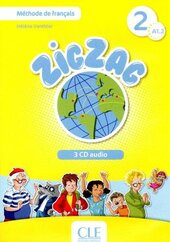 ZigZag 2. CD audio pour la classe. Collectif (набір із 3 аудіодисків) - фото обкладинки книги