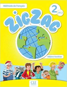 ZigZag 2. Livre de L'eleve + CD audio - фото книги