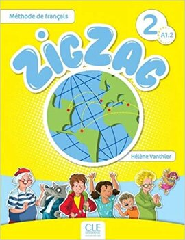 ZigZag 2. Livre de L'eleve + CD audio - фото книги