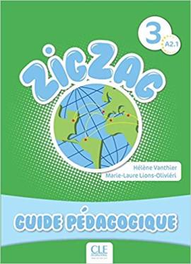 ZigZag 3. Guide pedagogique (Livre Du Professeur) - фото книги