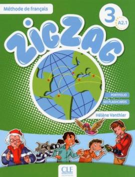 ZigZag 3. Livre de L'eleve + CD audio - фото книги