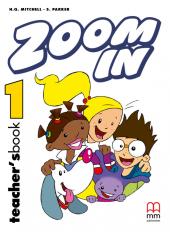 Zoom in special 1. Teacher's Book - фото обкладинки книги