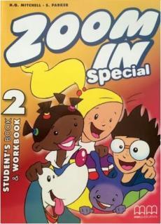Zoom in special 2. Student's Book & Workbook with CD-ROM (підручник+роб.зошит+аудіодиск) - фото книги