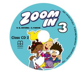 Zoom in special 3. Class Audio CDs  (набір із 2 аудіодисків) - фото книги