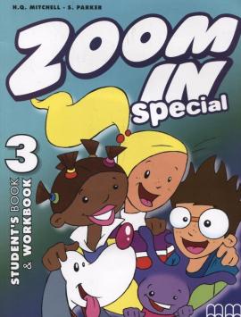 Zoom in special 3. Student's Book & Workbook with CD-ROM (підручник+роб.зошит+аудіодиск) - фото книги