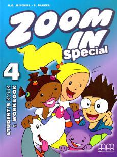 Zoom in special 4. Student's Book & Workbook with CD-ROM (підручник+роб.зошит+аудіодиск) - фото книги