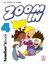 Zoom in special 4. Teacher's Book - фото обкладинки книги