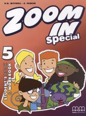 Zoom in special 5. Student's Book & Workbook with CD-ROM (підручник+роб.зошит+аудіодиск) - фото обкладинки книги