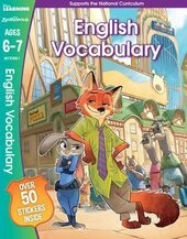 Zootropolis. English Vocabulary. Ages 6-7 - фото обкладинки книги