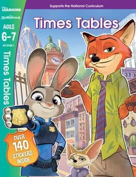 Zootropolis. Times Tables. Ages 6-7 - фото книги